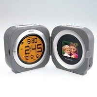 Brookstone Photo Travel Clock