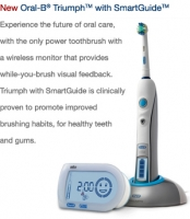 Oral B Triumph Toothbrush